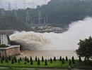 Thủy điện Hòa Bình, Sơn La mở cửa xả lũ trong sáng nay