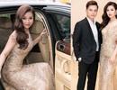 """Á hậu Diễm Trang """"hẹn hò"""" MC Danh Tùng bằng siêu xe"""