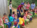 Khởi công công trình phòng học Dân trí thứ 22 tại điểm trường Lũng Kim, Cao Bằng
