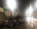 Xe đầu kéo đâm xe tải trong hầm Hải Vân, 3 người bị thương
