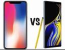Trên 1.000 USD nên mua Galaxy Note9 hay iPhone X