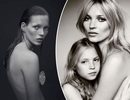 """Kate Moss: """"Tôi sẽ không bao giờ để con gái chụp ảnh ngực trần như mẹ"""""""