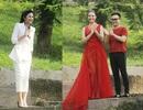 Hồng Quế và dàn chân dài diễn thời trang cho đôi bạn thân Ngọc Hân - Hà Duy