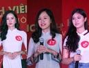 Nữ sinh Hà Nội xúng xính váy áo dự thi Sơ khảo Hoa khôi Sinh viên Việt Nam