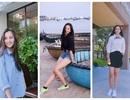 Nhan sắc đời thường của tân Hoa hậu Việt Nam 2018 Trần Tiểu Vy