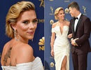 Scarlett Johansson duyên dáng sánh đôi cùng bạn trai