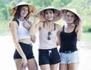 Dàn Hoa hậu, Á hậu Áo sửng sốt trước vẻ đẹp của hang động Việt Nam