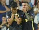 C.Ronaldo và lời xin lỗi Juventus sau tấm thẻ đỏ