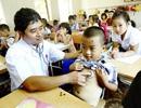 Gần 350 học sinh được khám sàng lọc tim bẩm sinh