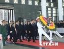 Các đoàn quốc tế tới viếng Chủ tịch nước Trần Đại Quang