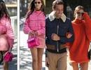 Siêu mẫu Victoria's Secret diện trang phục màu sắc tại tuần lễ thời trang Paris