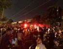 Hà Nội: Cháy lớn xảy ra tại 4 cửa hàng ở khu tái định cư