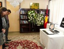 Lễ viếng Chủ tịch nước Trần Đại Quang tại Đại sứ quán Việt Nam tại Hoa Kỳ