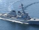 Mỹ điều tàu khu trục áp sát quần đảo Trường Sa giữa lúc căng thẳng với Trung Quốc