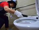 """Hàn Quốc """"tuyên chiến"""" với nạn quay lén phụ nữ trong nhà vệ sinh"""