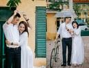 Bảo Thanh và ông xã tiết lộ mối tình tuổi học trò nhân ngày khai giảng