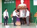 Trưởng Ban Tuyên giáo Trung ương Võ Văn Thưởng dự khai giảng ở trường THPT Dân tộc Nội trú Ninh Thuận