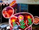 Đèn lồng khổng lồ hình thỏ đón trung thu ở TPHCM