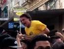 Ứng viên tổng thống Brazil bị đâm suýt mất mạng khi vận động bầu cử