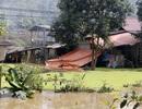Nước hồ thải nhà máy a pa tít chảy ra ngoài, tràn vào nhà dân