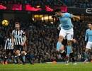 Man City 3-1 Newcastle: Vượt qua áp lực, Aguero lập hat-trick
