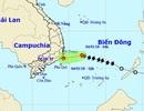 Bão số 1 suy yếu thành áp thấp nhiệt đới