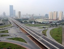 Chính thức xây dựng cầu cạn cao tốc Mai Dịch - Nam Thăng Long