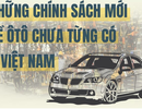 Infographic: Những chính sách chưa từng có về ô tô ở Việt Nam năm 2018