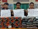 Bắt 3 đối tượng người Lào vận chuyển pháo lậu qua biên giới