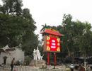 Hà Nội tháo đồng hồ đếm ngược khỏi di tích đền Bà Kiệu