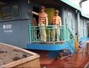 Nhiều tàu chở hàng quá hạn đăng kiểm, vượt trọng tải chạy trên sông Đào