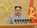 Chi tiết gây chú ý khi ông Kim Jong-un phát đi thông điệp năm mới
