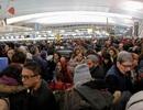 """""""Bom tuyết"""" kèm vỡ ống nước, sân bay Mỹ hỗn loạn"""