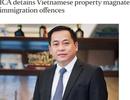 Singapore đã yêu cầu trục xuất Phan Van Anh Vu