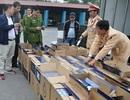 CSGT bắt giữ gần 20 nghìn bao thuốc lá ngoại nhập lậu
