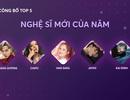 Công bố Top 5 Zing Music Awards 2017