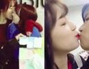 Những nụ hôn môi gây tranh cãi của các nữ ca sỹ thần tượng