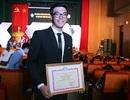 """""""Soái ca trường Luật"""" nhận giải thưởng """"kép"""" của TW Hội sinh viên"""