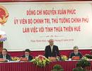 Thủ tướng: Thừa Thiên Huế cần đột phá mạnh mẽ về du lịch, dịch vụ