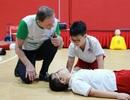 Học sinh trường Quốc tế Bắc Mỹ (SNA) được trang bị kỹ năng sơ cấp cứu