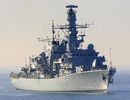 Anh điều tàu khu trục chặn tàu hải quân Nga