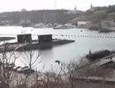 Xuất hiện video các tàu chiến Nga muốn trả lại Ukraine
