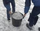 Lạ lùng hiện tượng tuyết đen như than