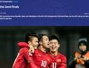 AFC nhầm lẫn tai hại, gạch tên U23 Việt Nam khỏi bán kết