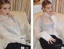 Rosie Huntington-Whiteley quyến rũ với áo xuyên thấu