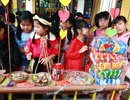 Nhộn nhịp phiên chợ xuân tại trường tiểu học