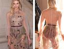 Karlie Kloss khoe thân với váy xuyên thấu