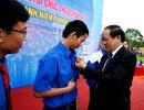 Truy tặng huy hiệu tuổi trẻ dũng cảm cho 4 thanh niên cứu người trong lũ