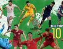 Đoàn Văn Hậu lọt top 10 cầu thủ xuất sắc nhất vòng 1/8 Asian Cup