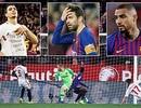 Barcelona gục ngã đau đớn trước Sevilla ở Cúp Nhà vua